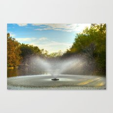 Fountain in New Orleans Canvas Print