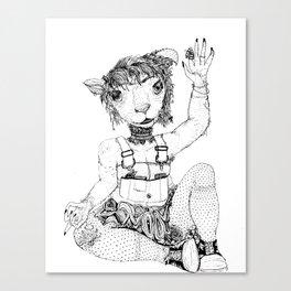 It's a Ewe Year  Canvas Print