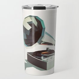 Lo-Fi goes 3D - Vinyl Record Player Travel Mug