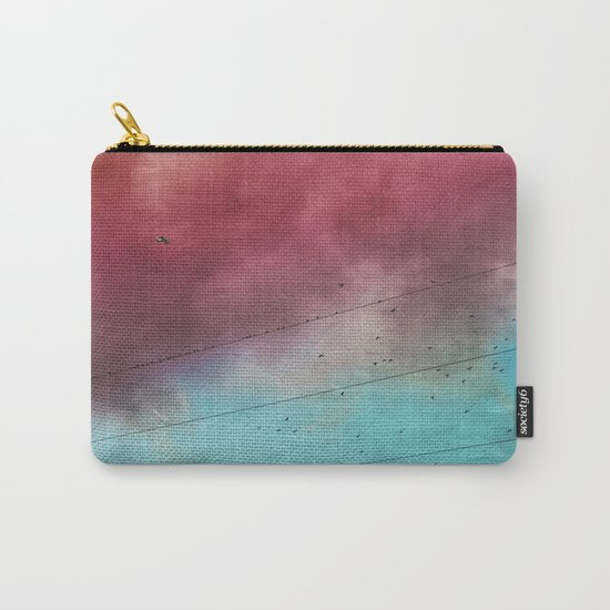 under a cotton candy cloud Carry-All Pouch