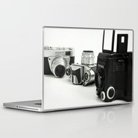 cameras Laptop & iPad Skins featuring cameras by Falko Follert Art-FF77