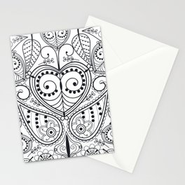 Leaf Mirrors Stationery Cards