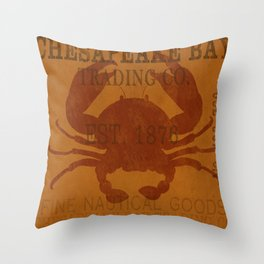 Chesapeake Bay Throw Pillow