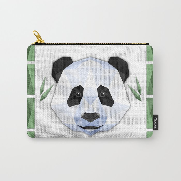 Geo Panda Carry-All Pouch