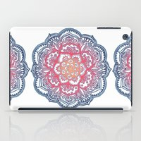 bedding iPad Cases featuring Radiant Medallion Doodle by micklyn