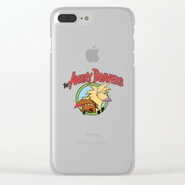 Angry Beavers Clear iPhone Case