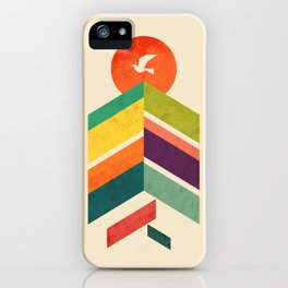 Lingering Mountains iPhone Case