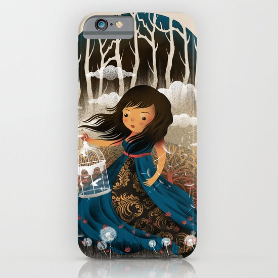 There Once Was A Girl In A Whimsical Land iPhone & iPod Case