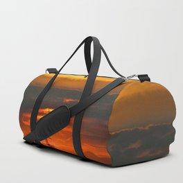 Sunset Horizon Duffle Bag
