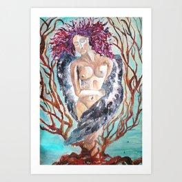 The Nymph Art Print