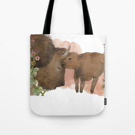 The American Bison Tote Bag