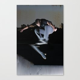 Flip Trick Canvas Print