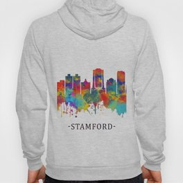 Stamford Connecticut Skyline Hoody