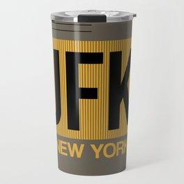 JFK New York Luggage Tag 3 Travel Mug