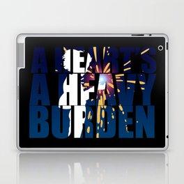 A heart is a heavy burden Laptop & iPad Skin