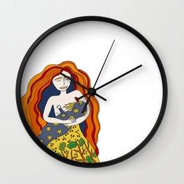 Garden Mama Wall Clock