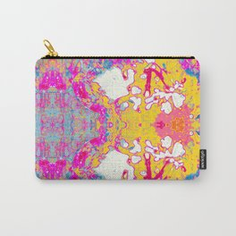 abstract flower print#1 Carry-All Pouch