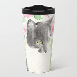 Miss Green Eyes Travel Mug