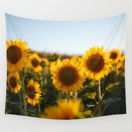 Sunflower's Season (II) Wall Tapestry
