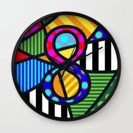 Lucky Eight Wall Clock