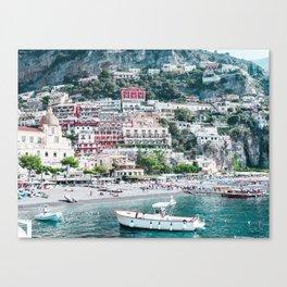 In Positano Canvas Print