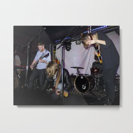 Avers at Baby's All Right Brooklyn, New York Metal Print