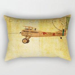 Vintage Flight Rectangular Pillow