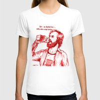 anchorman T-shirts featuring Anchorman: Milk was a Bad Choice by Red Misery