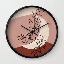 Abstract Mooon Wall Clock