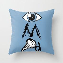 I Am Screwed Throw Pillow
