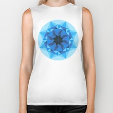 Deconstructed Diamond Biker Tank