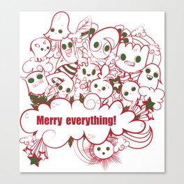 merry everything Canvas Print