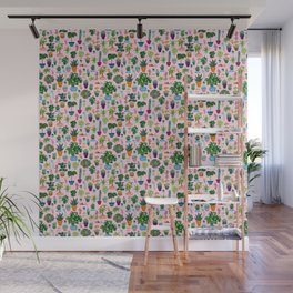 ALL THE POTTED PLANTS Wall Mural