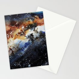 Galaxy X Whale Stationery Cards