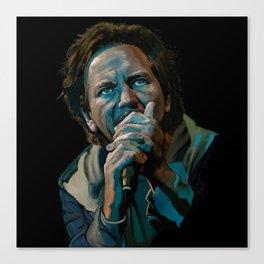 Vedder Man Canvas Print