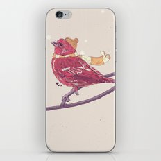 Winter Finch iPhone & iPod Skin