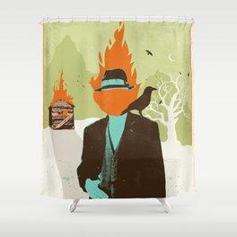 THE FIRESTARTER Shower Curtain