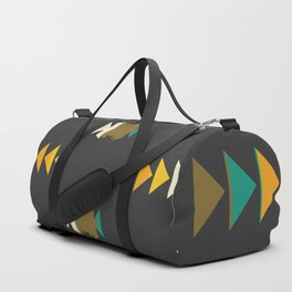 Bright shapes in the dark Duffle Bag
