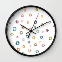 happiness Wall Clocks featuring Happiness by Shakkedbaram