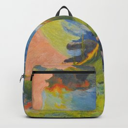 "Paul Gauguin ""Au-dessus de la mer (Above the sea)"" Backpack"
