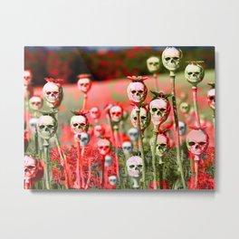 papi flower Metal Print