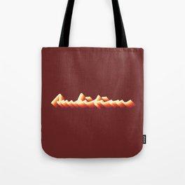 Ambition Vintage Retro Typography Tote Bag