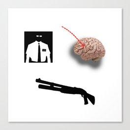 Joseph Smith Brain Hunter Canvas Print