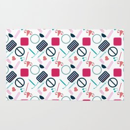 Contraception Pattern Rug