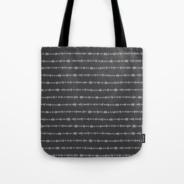 Tribal Arrows - Hand Drawn Illustration, Abstract Pattern Tote Bag