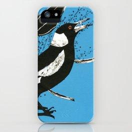Australian Magpie iPhone Case