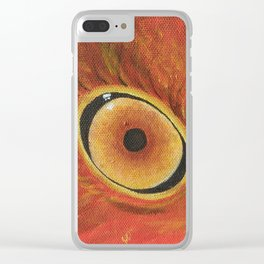 Eye of the Phoenix Clear iPhone Case