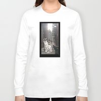 pittsburgh Long Sleeve T-shirts featuring Pittsburgh Lurkers by Christine Eglantine