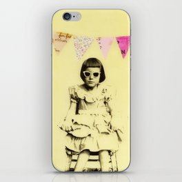"""""""Partially Amused"""" iPhone Skin"""
