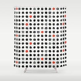 Ink Blot II Shower Curtain